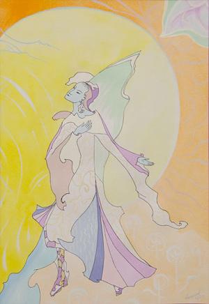 Картины Феодосии. Танец Утренней Зари