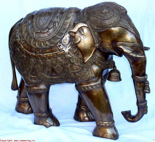 Индия. Индийские сувениры. Слон