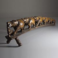 Сувениры из Индии. Семь слонов