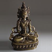 Сувениры из Непала. Бронзовая статуэтка Амитаюс