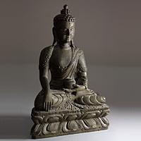 Сувениры из Непала. Каменная статуэтка Будды